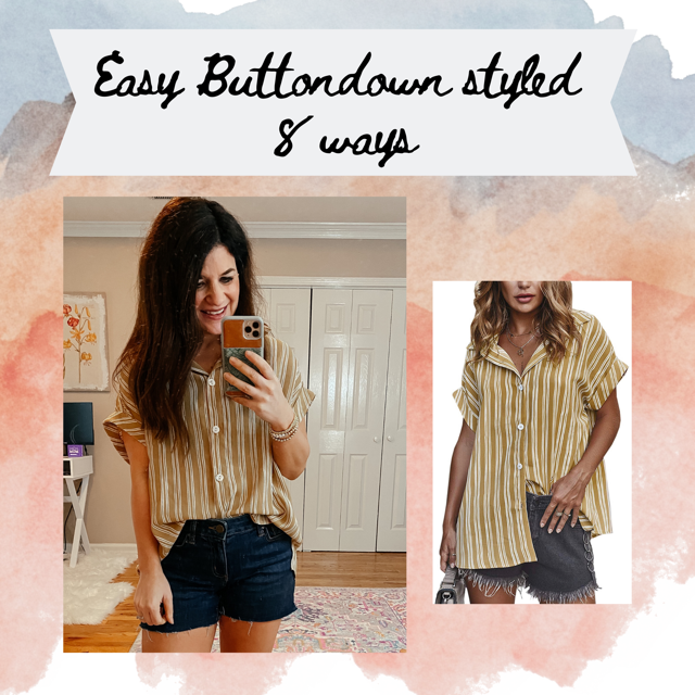 Amazon Button-down Styled 8 Ways