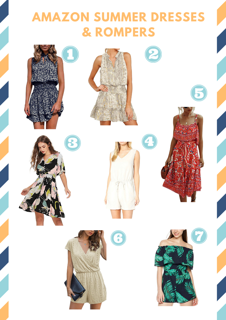 Amazon Haul: Summer Dresses and Rompers